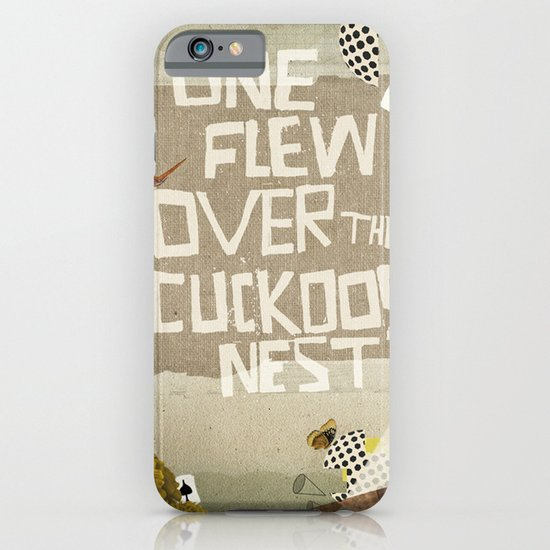 one flew over the cuckoos nest iPhone & iPod Case