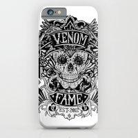 iPhone & iPod Case featuring Venom Fame crest by HarisRashid