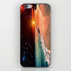 Galaxy beach iPhone & iPod Skin