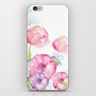 iPhone & iPod Skin featuring My Garden by Ale Ibanez