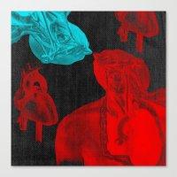 Stolen Hearts (Les Coeur… Canvas Print