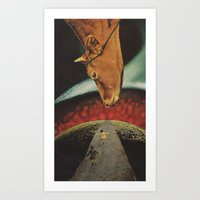 At the instant of fertilization...(The Revolution has Started) Art Print