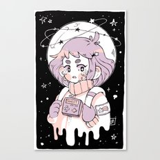 Space Sweetheart Canvas Print