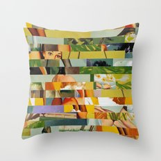 Don't Entirely Trust the Gardener (Provenance Series) Throw Pillow