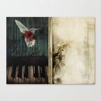 all that we leave behind Canvas Print