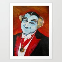 The Munsters Grandpa Mun… Art Print