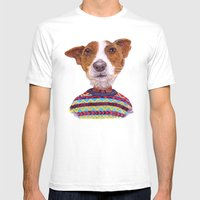 Alvin Mens Fitted Tee White SMALL