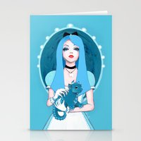 Alice Wore Blue Stationery Cards