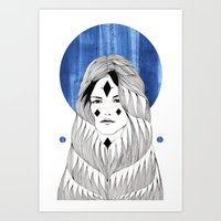 Winter Hymn Art Print