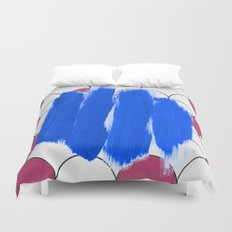 Blu Imperfection Duvet Cover