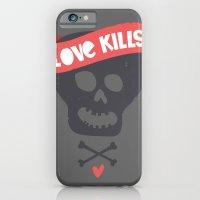 iPhone & iPod Case featuring Love kills by Juliana Rojas   Puchu