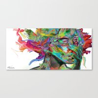Mind Mirror Canvas Print