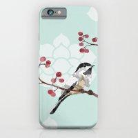 iPhone & iPod Case featuring Chickadee by Lorri Leigh Art