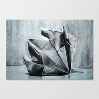 Canvas Print featuring ORIGAMI by One Pepinillo