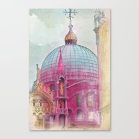 DREAMING OF SAN MARCO Canvas Print