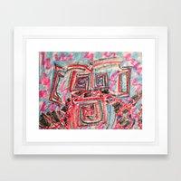 Rollin' Framed Art Print