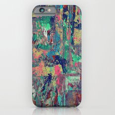 Express Yourself - Abstract, multi coloured, oil painting iPhone 6 Slim Case