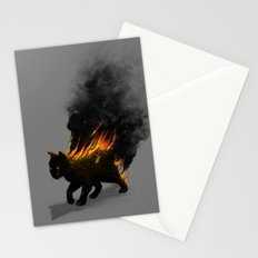This Cat Is On Fire! Stationery Cards