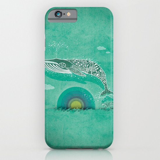 Whale Future iPhone & iPod Case