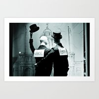 Legalize X Just Married! Art Print