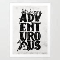 MORE ADVENTUROUS II Art Print