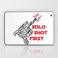 Han Shot First Laptop & iPad Skin