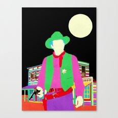 The Gay Cowboy Canvas Print