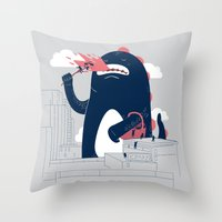Sunday Picnic Throw Pillow