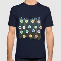 Chaord #1 Mens Fitted Tee Navy SMALL