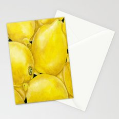 Fresh Lemons Stationery Cards