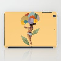 I Walk Out In The Flower… iPad Case