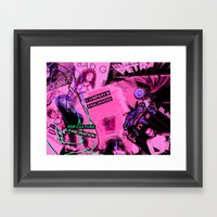 POP CULTURE FASCINATION  Framed Art Print