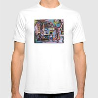 The Quest Mens Fitted Tee White SMALL