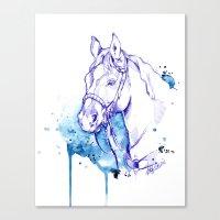 Blue Rodeo Canvas Print