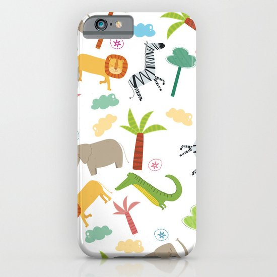 A HAPPY DAY  IN JUNGLE iPhone & iPod Case