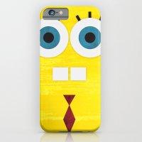 iPhone & iPod Case featuring Minimal Spongebob by Shawn P Cowan