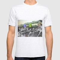 motorqueen Mens Fitted Tee Ash Grey SMALL