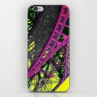 purple paris iPhone & iPod Skin