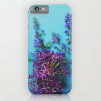 She Found Stray Flowers … iPhone 6 Slim Case