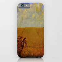 iPhone & iPod Case featuring I am a vintage cow by monjii art