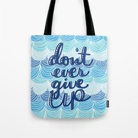 Fight the Blues Tote Bag