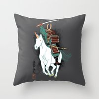 Uniyo-e Throw Pillow