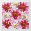 Spring Floral Explosion Canvas Print