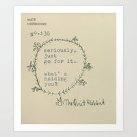 No.138 - Go For It Art Print