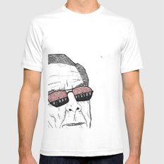 x-ray vision Mens Fitted Tee SMALL White