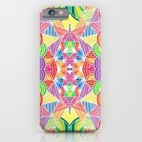 iPhone & iPod Case featuring Kaleidoscopic Zen by Flo Thomas