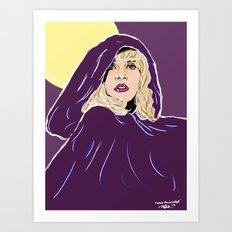 Wrap Her In Velvet Art Print