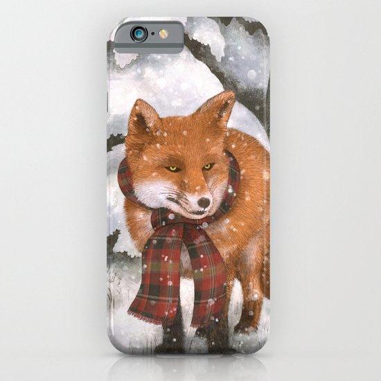 Winter Fox iPhone & iPod Case