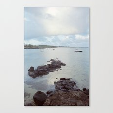 Sunrise in Mauritius Canvas Print