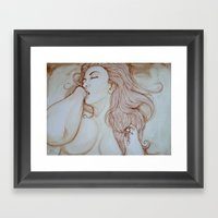 Self Discovery Framed Art Print